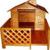 Merry Products Wooden Dog House