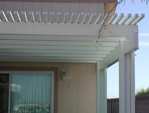 aluminum door cover