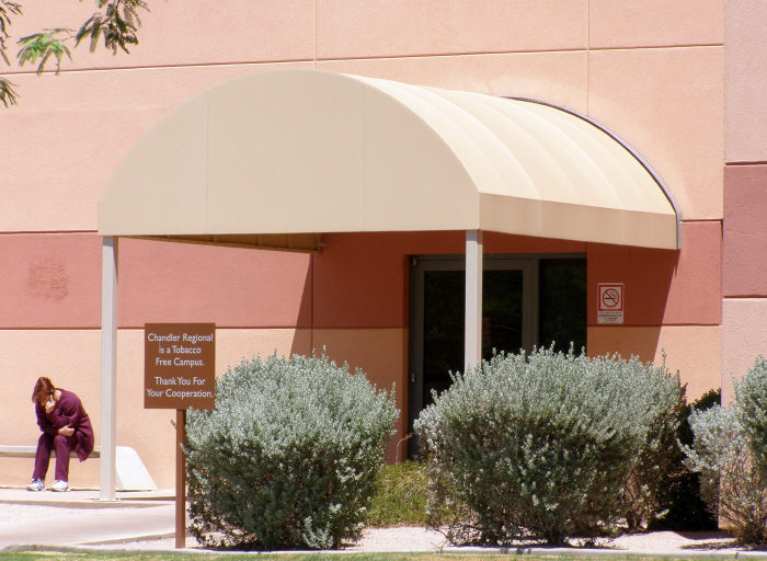 Entryway Dome Awning
