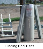 Finiding Pool Parts