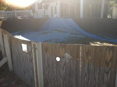 Used Above Ground Pool
