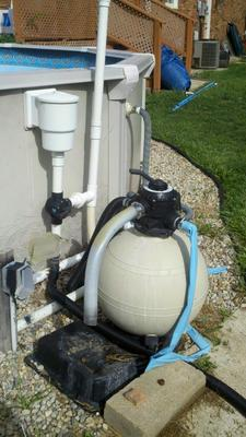 Above Ground Pool Plumbing