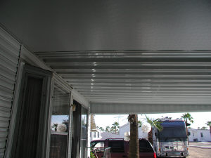 insulated roof panels and awning panels