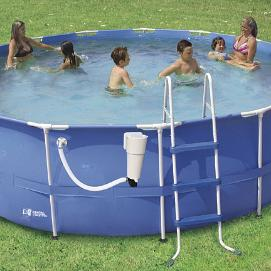 Intex Pool with Cheap Filter