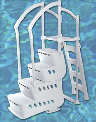 above ground pool ladder
