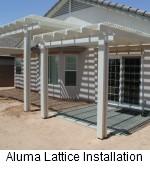 Alumawood Installation