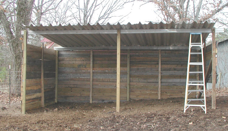 Loafing shed for Cheapest way to build a building