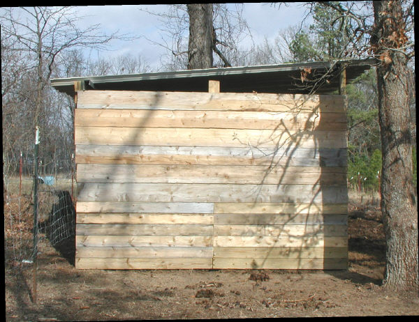 shed - side view