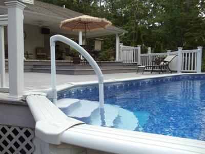 Steps in Pool