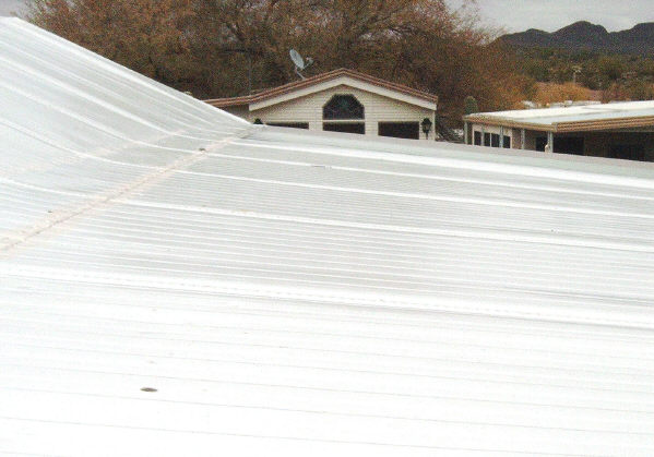 Mobile Home Roof Material