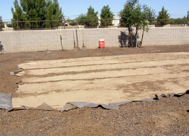 ground prep for oval pool installation