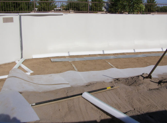 above ground pool pressure plates