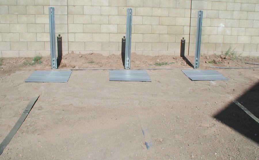 Oval Pool Side Braces