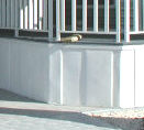 pan lock skirting from coil stock