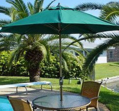 9' Crank Patio Umbrella
