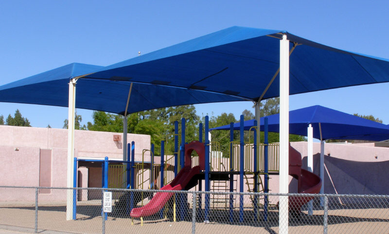 Fabric Playground Shade Canopy