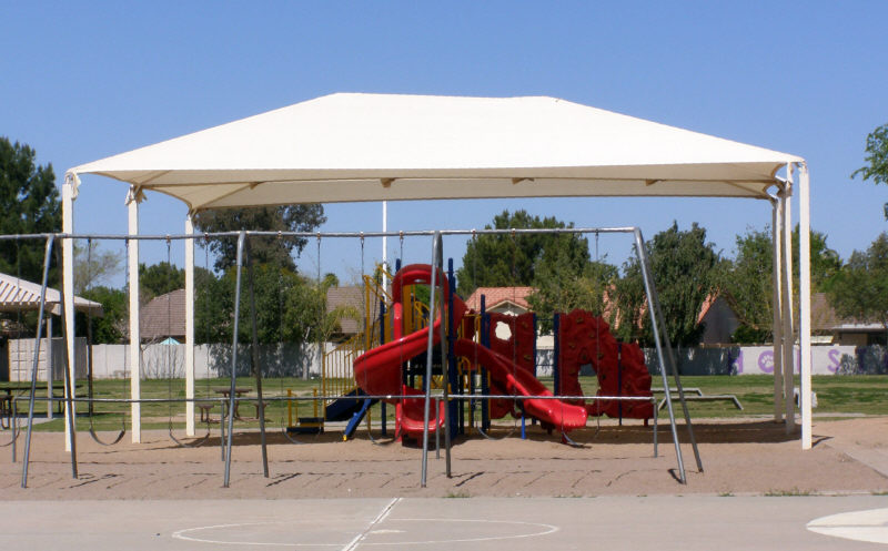 Canopy Over Playground