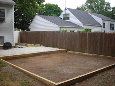 Pool base frame