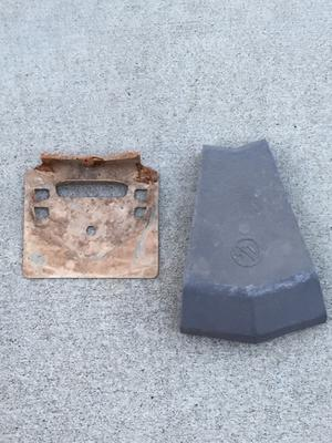 base plate and pool cap