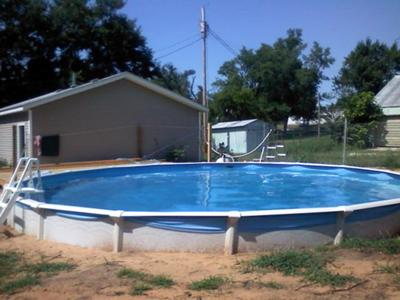 Pool Installed and Backfilled