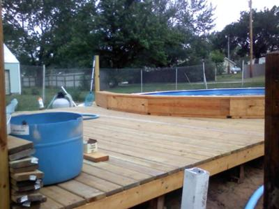 Wood Deck for AGP