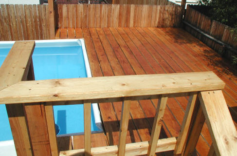 soft side pool deck