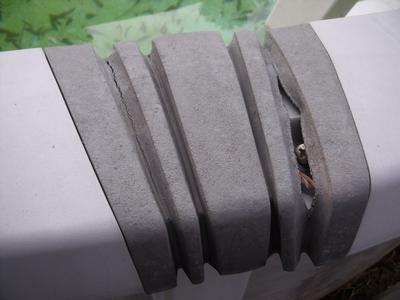 Top Rail Connector Cover