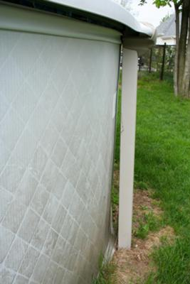 Pool Wall Bowed In