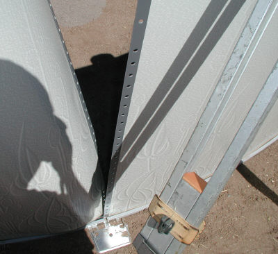 connecting an above ground pool sidewall