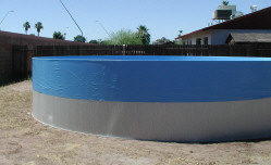 install pool liner