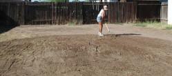 raking ground