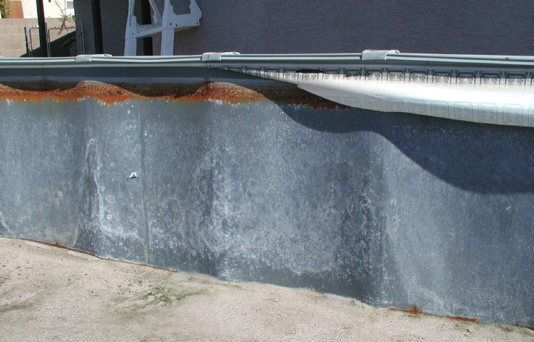 Pool Wall Repair
