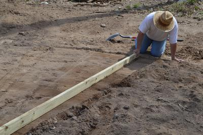 Leveling The Pool Ground