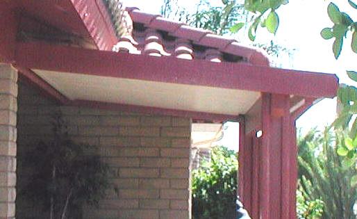 alumawood door canopy