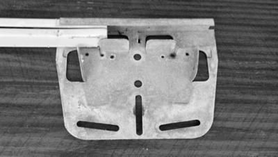 Bottom Rail and Plate