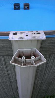 Top Plate For Above Ground Pool