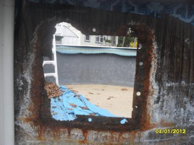 skimmer hole