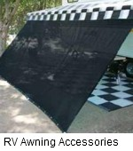 rv awning accessories
