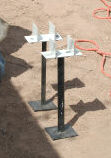 safety stakes with post brackets