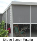 shade screen material