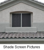 shade screen picture