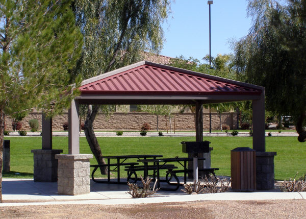 Steel Shade Structure
