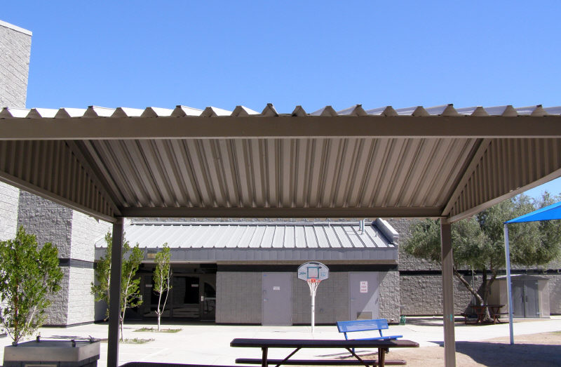 Shade Structure For Break Area