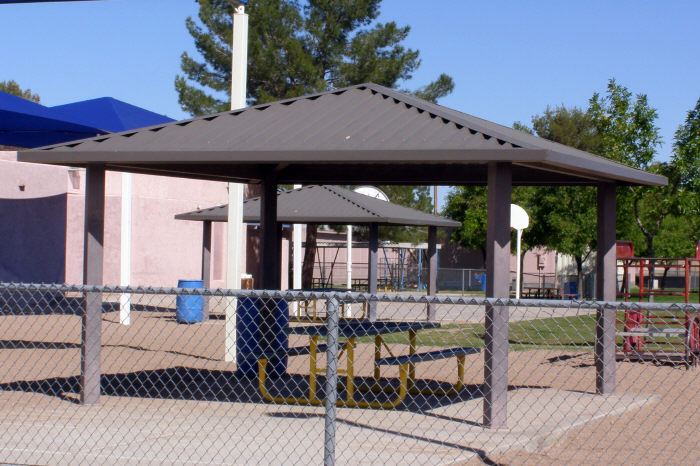 Metal Shade Structure