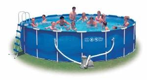 metal frame pool