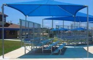 Shade Over Playground