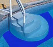 step pad for above ground pool steps