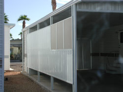 awning shade screens