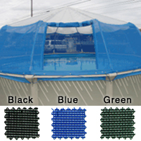 above ground pool screen dome