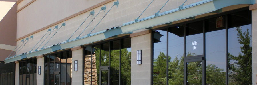 Suspended Steel Awnings